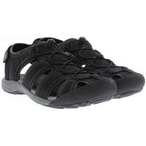 Men's Khombu Travis Active Sandals Adjustable BLK